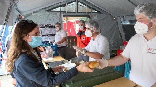 Unwetter: Rotes Kreuz noch bis 14. November im Ahrtal im Einsatz
