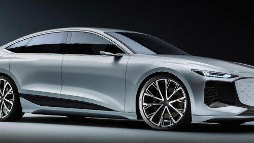 Elektrische Oberklasse: Wegweisend: Audi zeigt A6 E-Tron