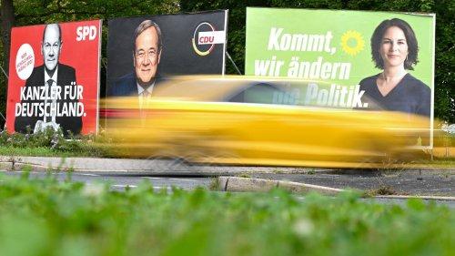 ZDF-Politikbarometer: Abstand zwischen Union und SPD schrumpft