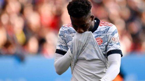 Fußball: Bayern München droht Ausfall von Alphonso Davies