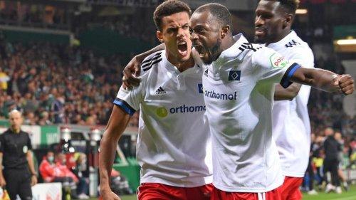 2. Liga: Derby-Wahnsinn: HSV gewinnt packendes Nordduell bei Werder