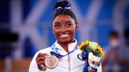 Olympia 2021: Simone Biles gewinnt Bronzemedaille am Schwebebalken