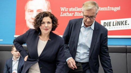 Die Linke: Amira Mohamed Ali und Dietmar Bartsch bleiben Fraktionschefs