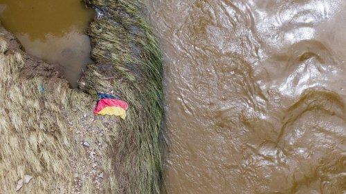 Hochwasser in Deutschland: Erst aus der Luft zeigt sich das ganze Ausmaß