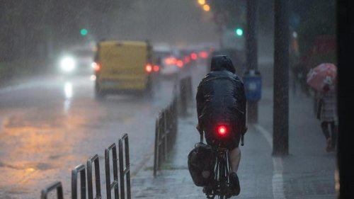 Wetter: Regen und Gewitter mit Unwettergefahr in Hessen erwartet