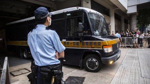 Hongkong: Neun Jahre Haft in erstem Prozess nach sogenanntem Sicherheitsgesetz