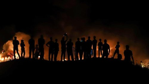 Nahostkonflikt: Hamas schickt Brandballons - Israel greift Gazastreifen an