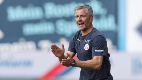Fußball: Hansa Rostock zuversichtlich: Bestbesetzung nach Nürnberg