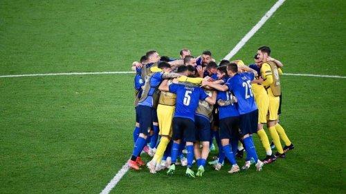 Italien nach Sieg gegen die Schweiz im EM-Achtelfinale