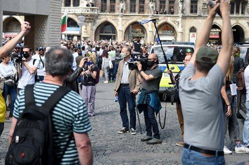 Querdenker auf Journalistenjagd - Störungsmelder