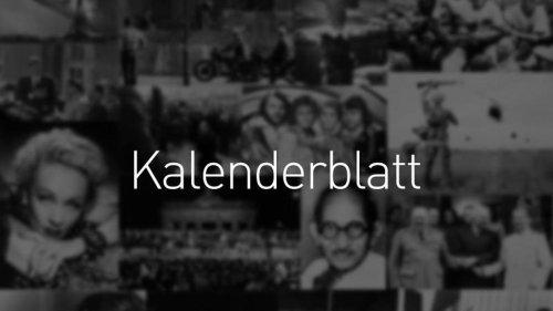 Was geschah am...: Kalenderblatt 2021: 18. September