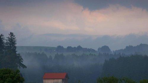 Wetter: Hohe Gewittergefahr am Wochenende in Bayern