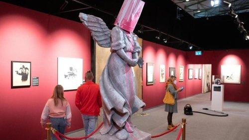 Kunst: Rundgang durch Mysterium Banksy: Schau mit Repliken