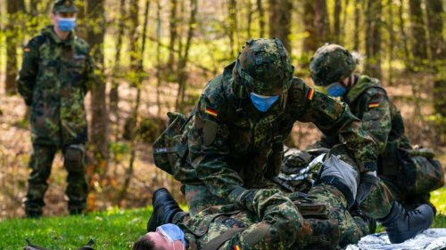 Heimatschützer trainieren in Franken für Katastrophen