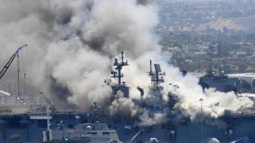 Ermittlungen: US-Marine geht nach Brand auf Kriegsschiff gegen Soldat vor