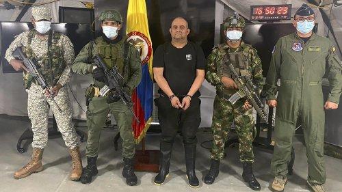Kokainschmuggel: Meistgesuchter Drogenboss in Kolumbien festgenommen
