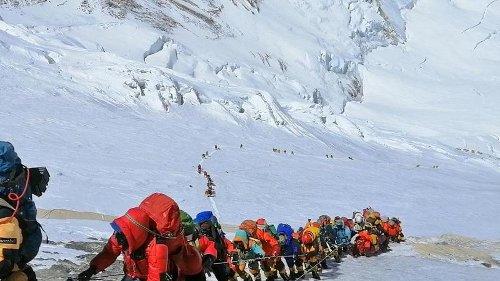 Wieder großer Ansturm auf den Mount Everest