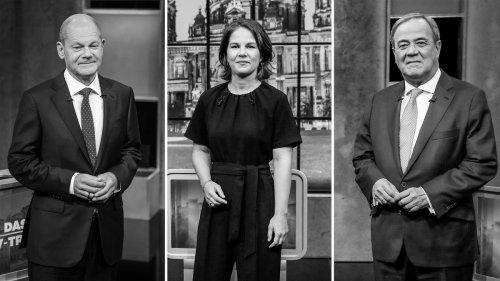 Triell der Kanzlerkandidaten: Zwei flirten, einer im Abseits