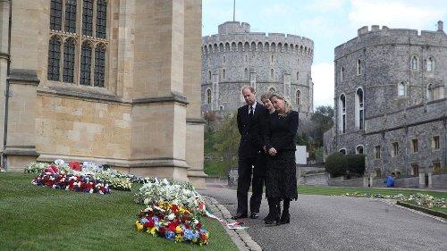 Vorbereitungen für die Trauerfeier von Prinz Philip