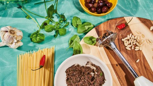 Olivenspaghetti: Nudeln für kalte Herbsttage