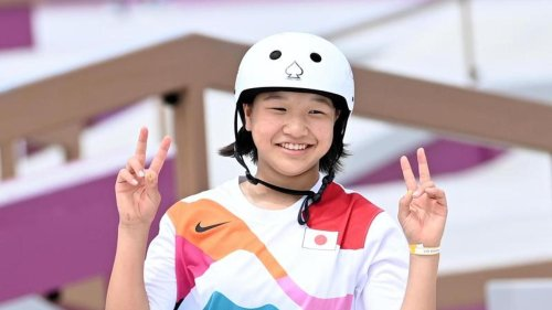 Olympia: 13 Jahre alte Japanerin Nishiya holt Skateboard-Gold