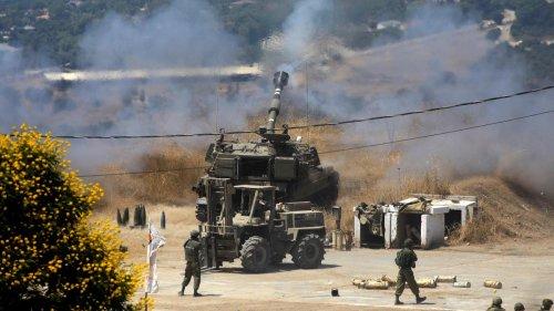 Israel: Israelisches Militär greift Ziele im Libanon an