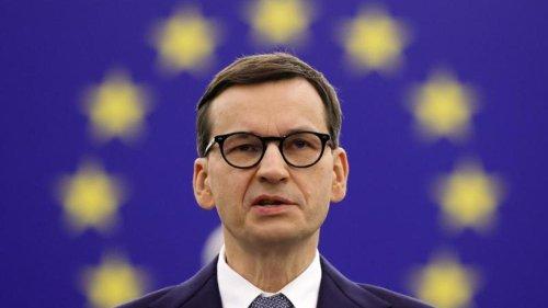 Europäische Union: Machtprobe: Polens Premier im Rededuell mit von der Leyen