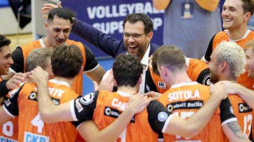 Volleyball: 3:0 gegen Haching: BR Volleys weiter ohne Punktverlust vorn