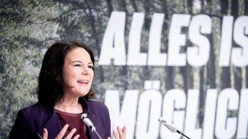 Brandenburgs Grüne wählen Baerbock zur Spitzenkandidatin