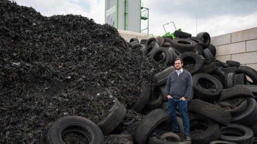Firma entwickelt neues Verfahren zum Altreifen-Recycling
