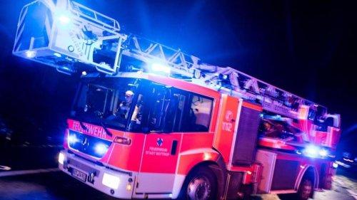 Drei Brände in Bayern: Kneipe und Wohnhäuser betroffen