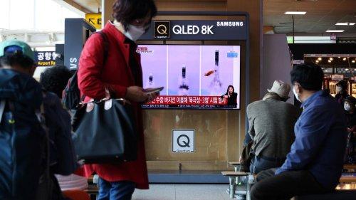 Militär: Nordkorea führt offenbar weitere Raketentests durch