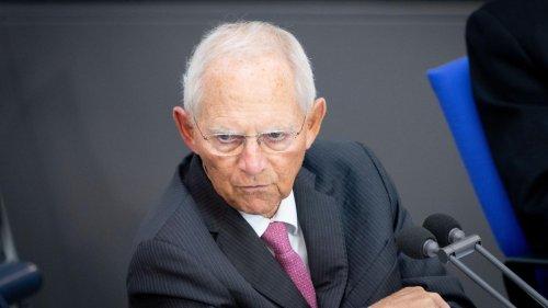 Wolfgang Schäuble: Immer zu seinen Bedingungen