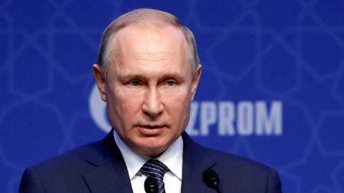 Russland: Wladimir Putin erhöht Gaslieferungen nach Europa