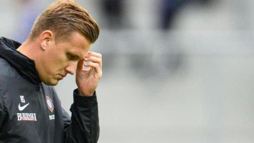 Fußball: Aue trennt sich nach Paderborn-Pleite vom Trainer