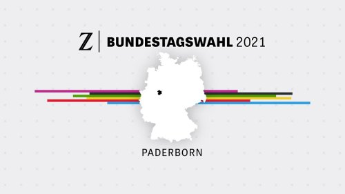 Bundestagswahl 2021: Wahlergebnis Paderborn