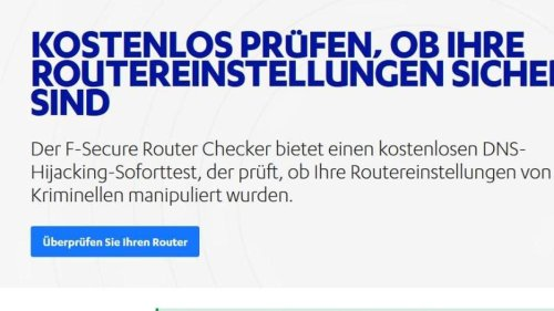 Check: Sind beim Router alle Schotten dicht?