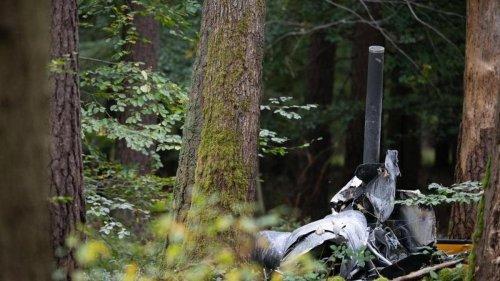 Unfälle: Drei Tote bei Hubschrauberabsturz in Baden-Württemberg