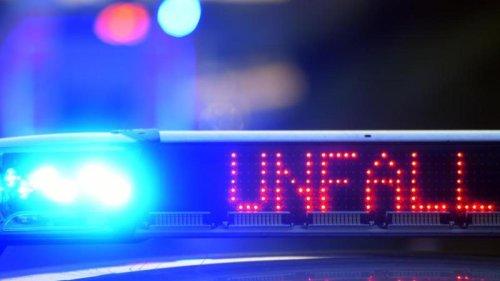 Unfälle: Alkoholisierter Autofahrer übersieht Stauende