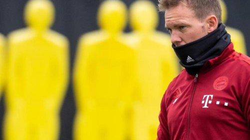 "Fußball: ""Grippaler Infekt"": FCB in Champions League ohne Nagelsmann"