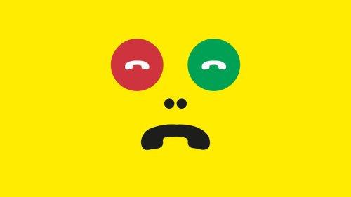 Telefonangst: Ruf! Mich! Nicht! An!