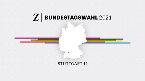 Bundestagswahl 2021: Wahlergebnis Stuttgart II