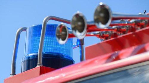 Wohnungsbrand in Karlsruhe: Zwei Leichtverletzte
