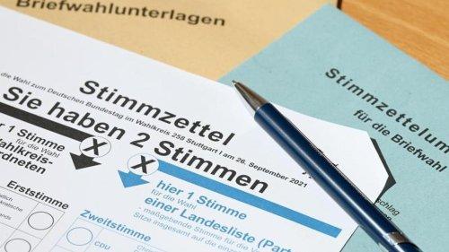 Bundestag: Schon mehr als eine halbe Million Briefwähler in Hamburg