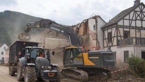 Wetter: Aufräumarbeiten im Ahrtal laufen auf Hochtouren