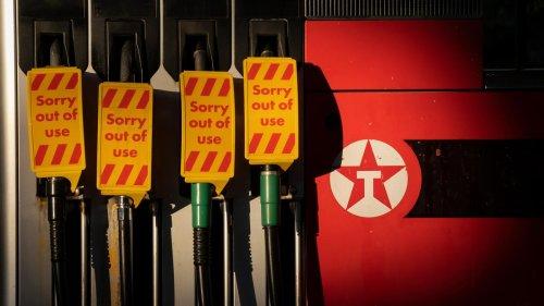 Benzinmangel in Großbritannien: Sprit nur für Ärzte