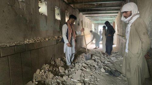 Afghanistan: Dutzende Tote und Verletzte bei Explosion in Moschee