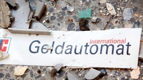 Geldautomat gesprengt: 26-jähriger Niederländer festgenommen