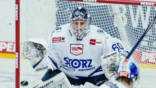 Schwenninger Wild Wings verlängern mit Torhüter Eriksson