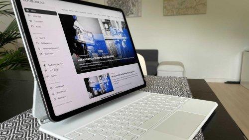 Mein neues Büro, ein iPad Pro